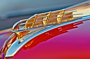 Hoodie Art - 1949 Plymouth Hood Ornament by Jill Reger