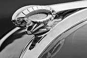 Car Abstracts Photo Posters - 1950 Dodge Ram Hood Ornament Poster by Jill Reger