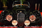 Transportation Art - 1950 Jaguar XK120 Alloy Roadster . 7D9179 by Wingsdomain Art and Photography