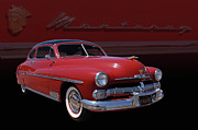 Bill Dutting Art - 1950 Mercury Monterey by Bill Dutting