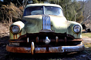 Junker Prints - 1950 Pontiac  Print by Bill Cannon