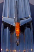 Hoodies Photos - 1950 Pontiac Chief Hood Ornament 2 by Jill Reger