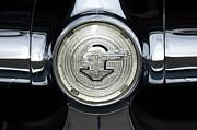 1950 Pontiac Grille Emblem 2 Print by Jill Reger
