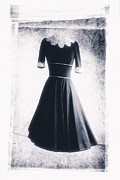 1950s Metal Prints - 1950s Dress Metal Print by David Ridley