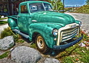 Gregory Dyer Posters - 1950s GMC Truck Poster by Gregory Dyer
