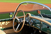 Car Photographs Art - 1950s Lancia Convertible by Jill Reger