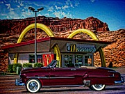 Mcdonalds Prints - 1951 Chevrolet Convertible Print by Tim McCullough