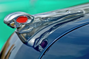 Hoodies Photos - 1951 Dodge Pilot House Pickup Hood Ornament by Jill Reger