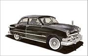 1951 Ford 2 Dr Sedan Print by Jack Pumphrey