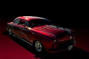 Custom Ford Metal Prints - 1951 Ford Custom Low Rider Metal Print by Tim McCullough