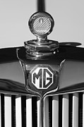 Td Framed Prints - 1951 MG TD Messko Thermometer Hood Ornament 2 Framed Print by Jill Reger