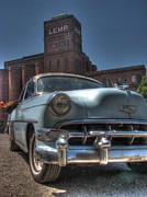 Rusty Car Photos - 1952 Chevy Bel Air by Jane Linders