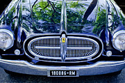 Supercar Framed Prints - 1952 Ferrari 212 Vignale Front End Framed Print by Jill Reger