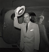 1952 Presidential Nominee Adlai Print by Everett