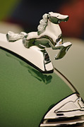 Sportster Photos - 1952 Sterling Gladwin Maverick Sportster Hood Ornament by Jill Reger