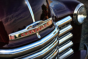 1949 Digital Art Originals - 1953 Chevy Pickup Grille by Gordon Dean II