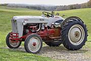 Antique Tractors Photos - 1953 Ford Golden Jubilee NAA by Debra and Dave Vanderlaan