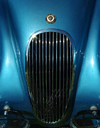 Digital Photography - 1953 Jaguar 120m Grill by Peter Piatt