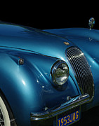 Tail Lights Photos - 1953 Jaguar 120m  by Peter Piatt