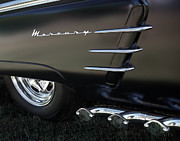 Chrome Prints - 1953 Mercury Monterey Print by Peter Piatt