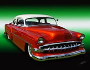 1954 bel air custom 01  artist