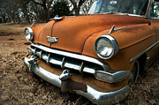 Old Car Door Photos - 1954 Chevrolet Bel Air by Betty LaRue