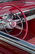 Steering Prints - 1954 Chevrolet Steering Wheel Print by Jill Reger