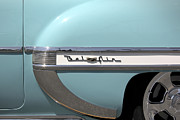 Tie Prints - 1954 Chevy Belair Print by Mike McGlothlen