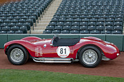 Professional Prints - 1954 Maserati A6 GCS  Print by Jill Reger