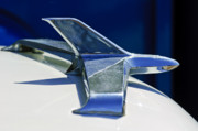 Hoodies Photos - 1955 Chevrolet 3100 Hood Ornament 2 by Jill Reger
