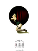 Burlesque Metal Prints - 1955 Metal Print by Cinema Photography