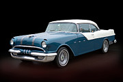 Chief Framed Prints - 1955 Classic Pontiac Star Chief  Framed Print by Betty LaRue