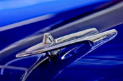 Collector Hood Ornament Posters - 1955 DeSoto Hood Ornament 3 Poster by Jill Reger