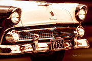 Fairlane Photos - 1955 Ford Fairlane by Bob Orsillo