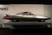 Transportation Photo Prints - 1955 Ghia Streamline X Gilda Concept Car - 7D17260 Print by Wingsdomain Art and Photography