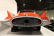 Transportation Photo Prints - 1955 Ghia Streamline X Gilda Concept Car - 7D17264 Print by Wingsdomain Art and Photography