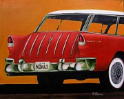 Dean Painting Originals - 1955 Nomad by Dean Glorso