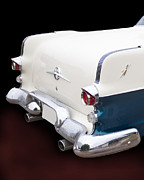 Classic Pontiac Art - 1955 Pontiac Rear End by Betty LaRue