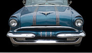 1955 Pontiac Star Chief Front Print by Betty LaRue