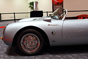Race Car Photo Posters - 1955 Porsche 550 RS Spyder . 7D 9411 Poster by Wingsdomain Art and Photography