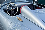 Exotic Metal Prints - 1955 Porsche Spyder  Metal Print by Jill Reger