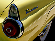 Tail Digital Art Prints - 1955 T-Bird Tail   Print by Douglas Pittman