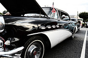 Vintage Auto Prints - 1956 Buick Century Profile 2 Print by Paul Ward