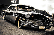 Phil Motography Clark Digital Art Prints - 1956 Buick Super Series 50 Print by Phil