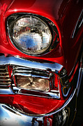 Headlight Prints - 1956 Chevrolet Bel Air Print by Gordon Dean II