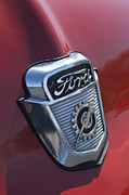 Photo Images Art - 1956 Ford Emblem by Jill Reger