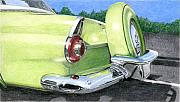 Oldtimer Originals - 1956 Ford Thunderbird by Rob De Vries