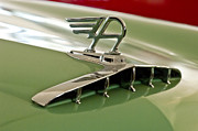 1957 Austin Cambrian 4 Door Saloon Hood Ornament Print by Jill Reger