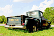 Chevy Pickup Prints - 1957 Chevrolet 3100 Pickup Print by Kornel J Werner