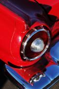 Car Detail Prints - 1957 Ford Thunderbird Taillight Print by Jill Reger